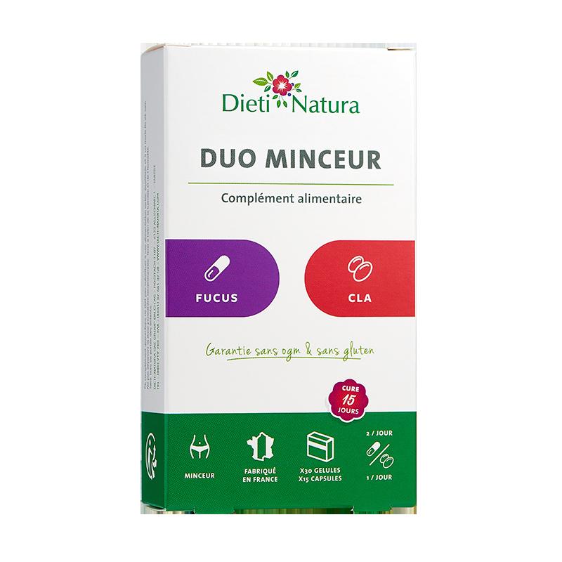 Duo Minceur : Fucus & CLA   Dieti Natura