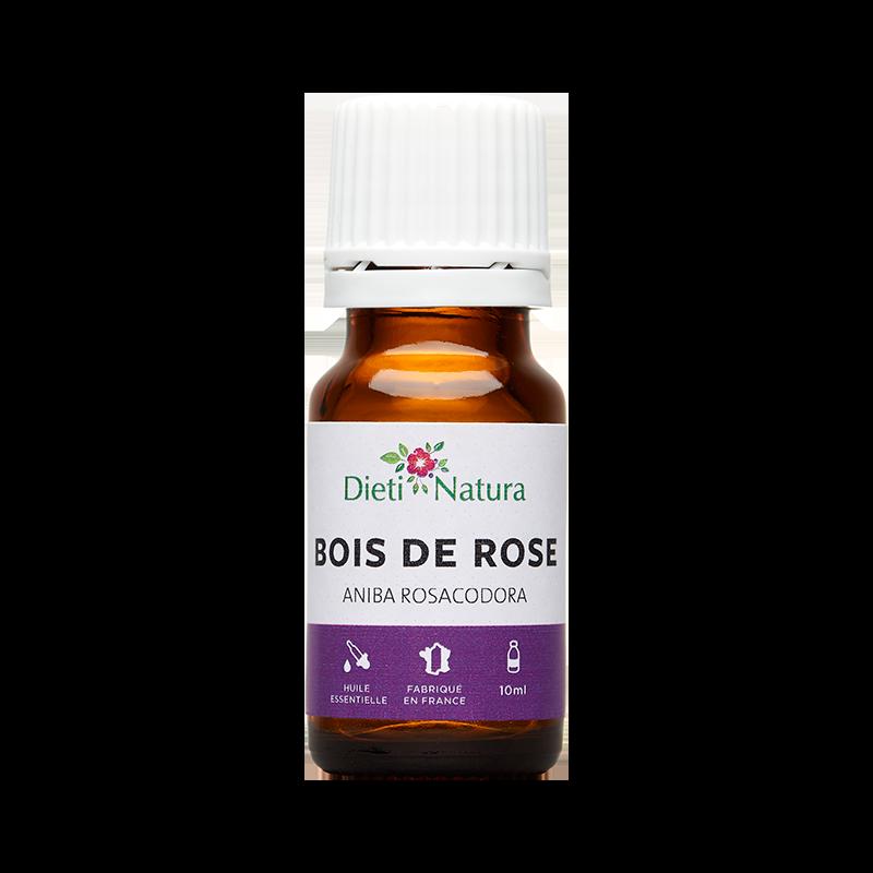 Huile Essentielle de Bois de Rose 10ml Dieti Natura # Huile Essentielle De Bois De Rose Anti Rides