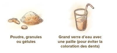 format charbon vegetal