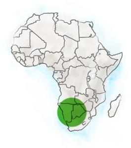localisation harpagophytum